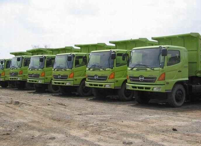rental dump truck samarinda