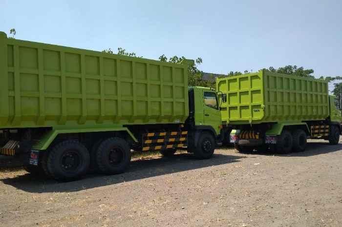 sewa dump truck samarinda image